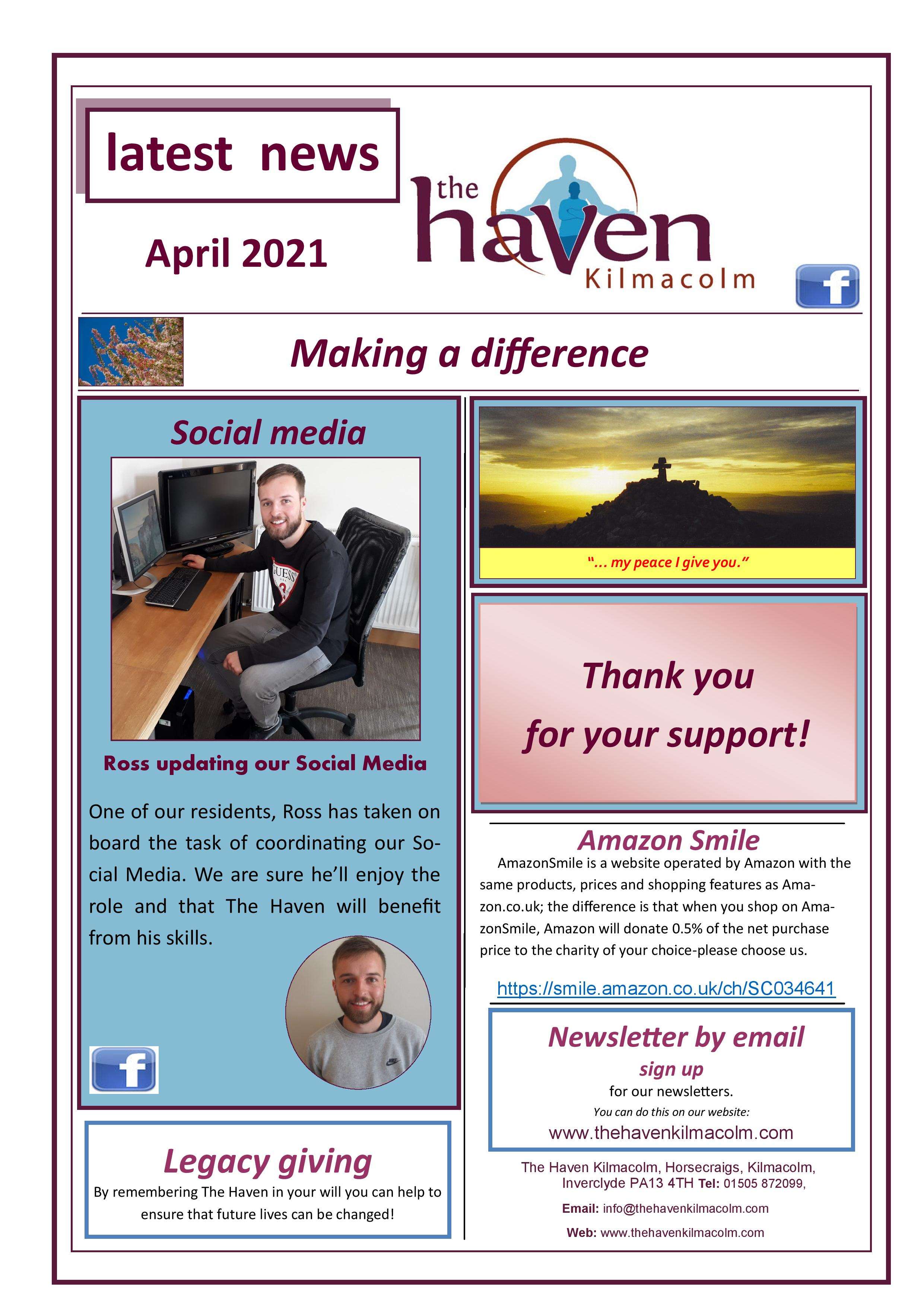 Haven Newsletter April 2021 page 004