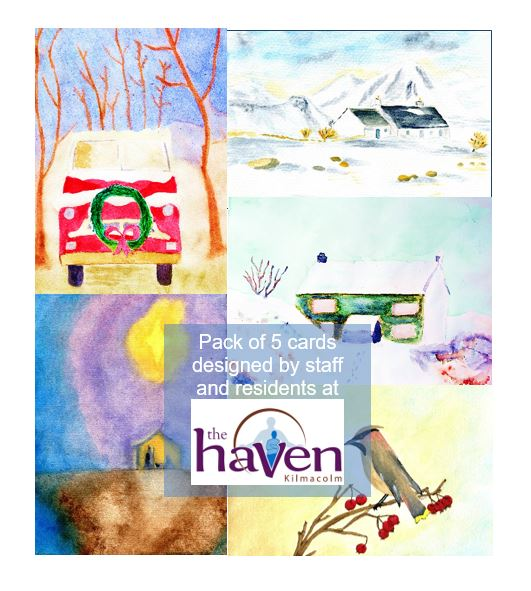 The Haven Advert for 2018 Christmas Cards 2